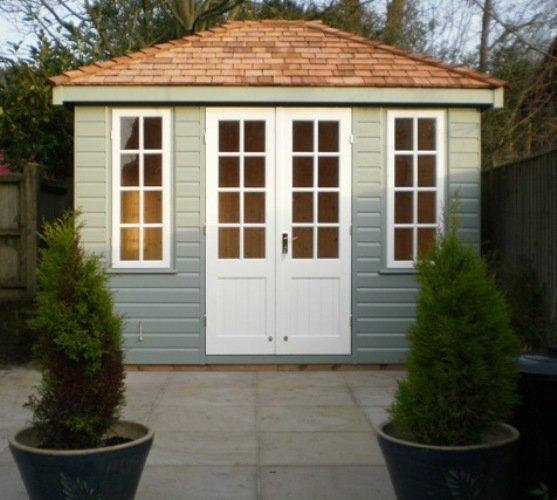 3.0 x 2.4m Cley Summerhouse