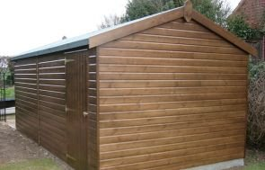 3.0 x 4.8m Timber Garage