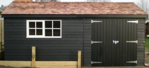 Exterior Paint System Black