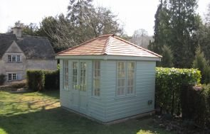 Cley Summerhouse with Cedar Shingle Tiles