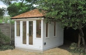 Bespoke Cley Summerhouse with Salthouse Doors