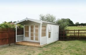 Morston Summerhouse with a Storage Partition
