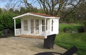 Morston Summerhouse with Cedar Shingle Tiles