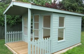 Morston Summerhouse with Painted Matchboard Lining