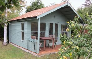 Morston Summerhouse with Steep Pitched Roof