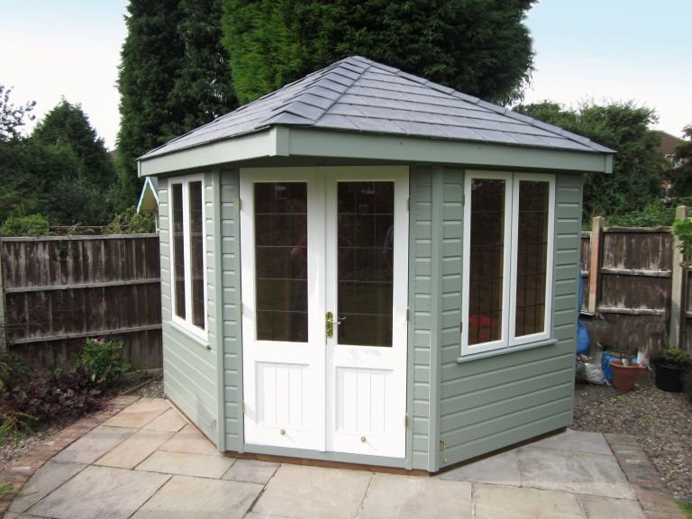 2.4 x 2.4m Weybourne Summerhouse