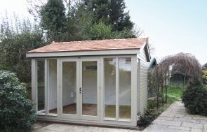 Burnham Garden Studio with Double Doors
