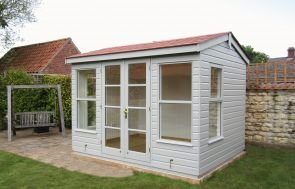 Holkham Summerhouse with Plain Windows