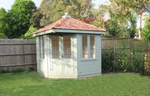 Weybourne Summerhouse with Cedar Shingle Tiles