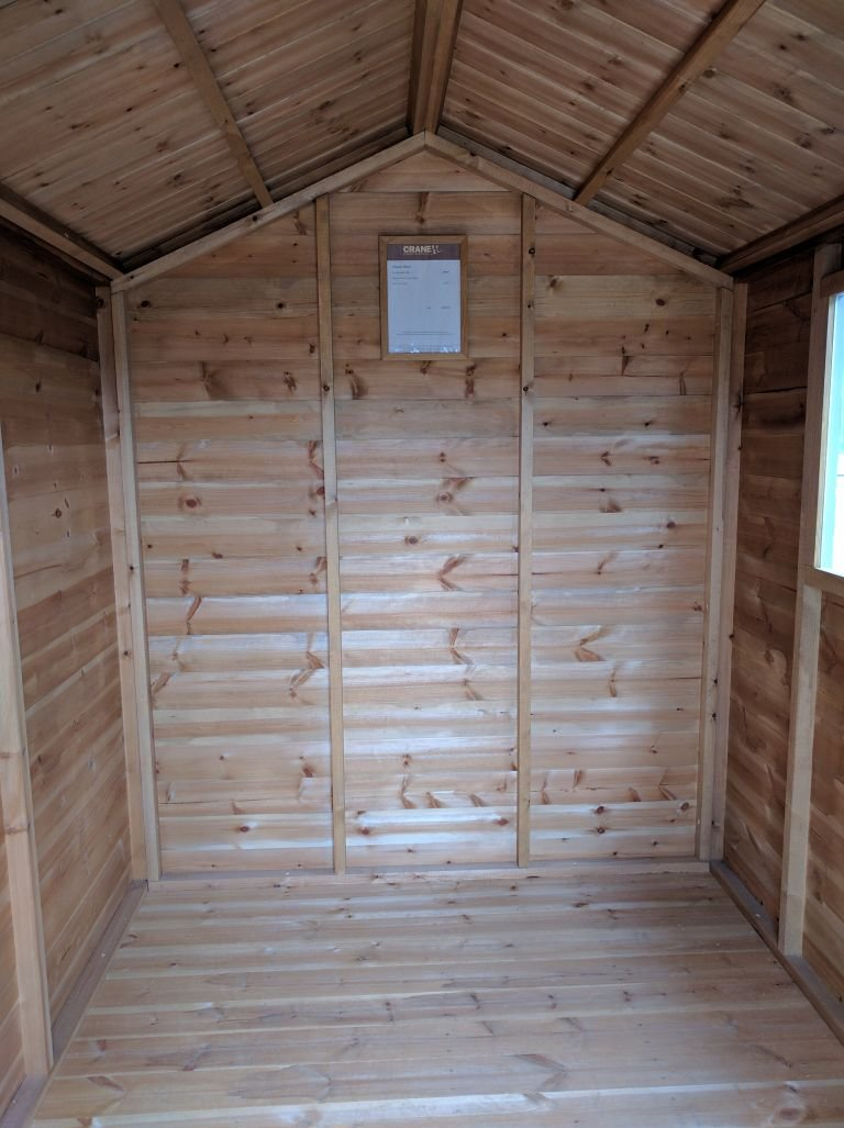 1.8 x 2.4m Classic Shed