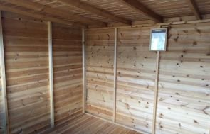 2.4 x 3.0m Classic Shed