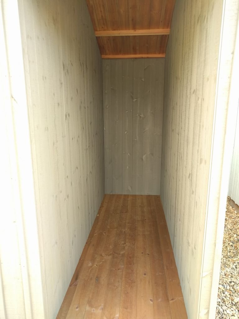 2.4 x 3.6m NT Blickling Shed