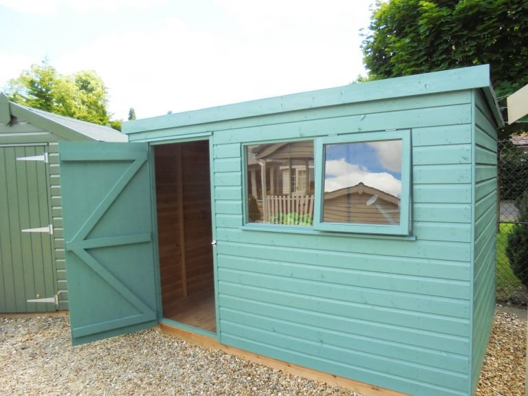 1.8 x 3.0m Classic Shed