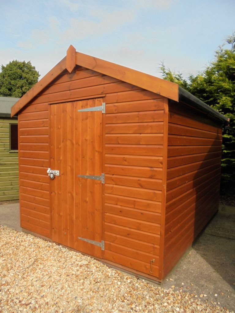 2.4 x 3.0m Superior Shed with Security Pack