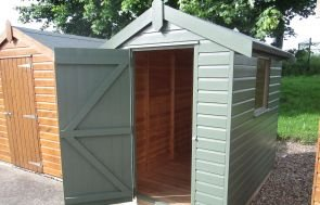 1.5 x 2.1m Classic Shed