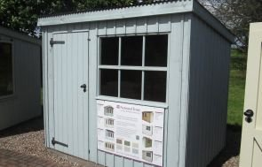 1.8 x 2.4m NT Oxburgh Garden Shed
