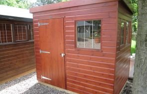 1.8 x 2.4m Superior Shed