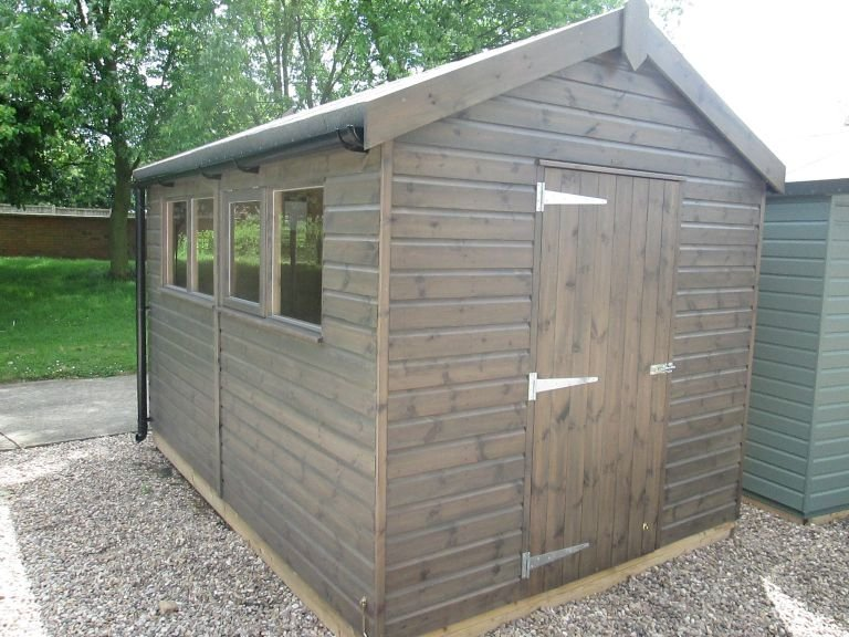 2.4 x 3.6m  Superior Shed