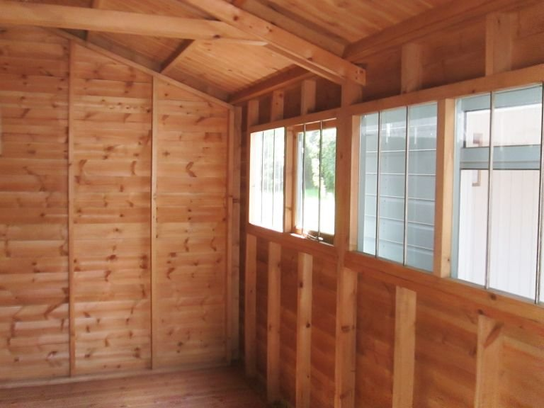 3.0 x 3.6m Superior Shed (2)