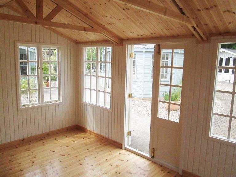 3.0 x 4.2m Holkham Summerhouse