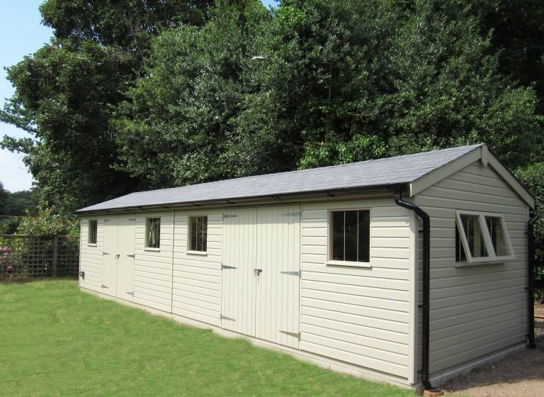 3.0 x 10.0m Superior Shed