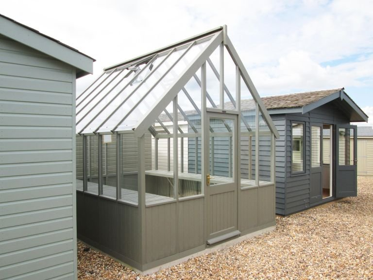 Timber Greenhouse - 3.0m x 3.6m (10ft x 12ft)