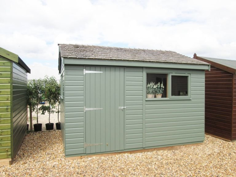 3.0 x 3.6m Superior Shed