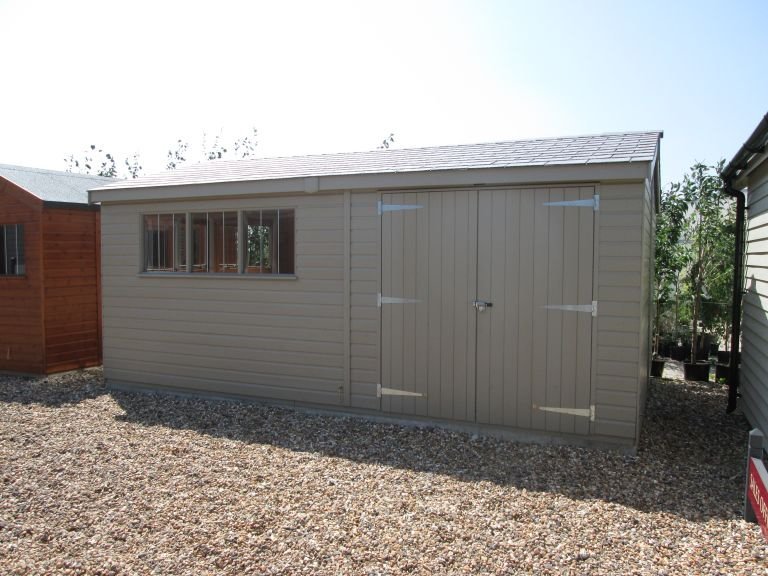3.6 x 5.4m Superior Shed