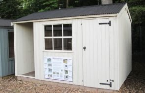 2.4 x 3.6m NT Blickling Garden Shed