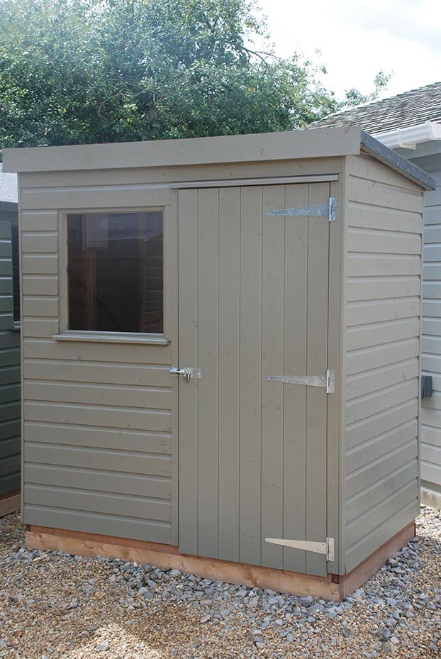 1.2 x 1.8m Classic Shed