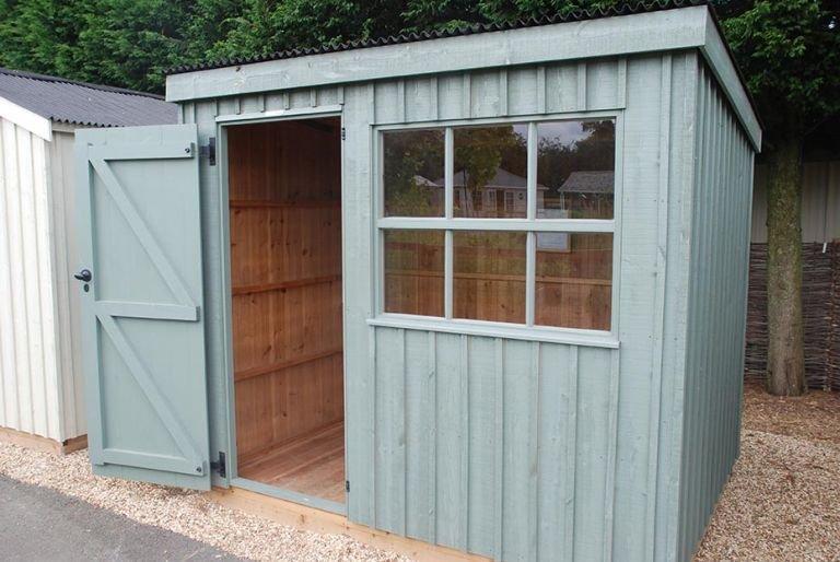 1.8 x 2.4m NT Oxburgh Garden Shed