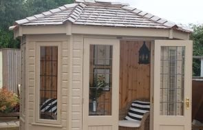 1.8 x 2.5m Wiveton Summerhouse