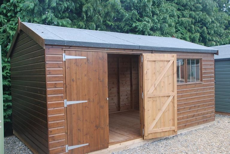 3.0 x 4.8m Superior Shed