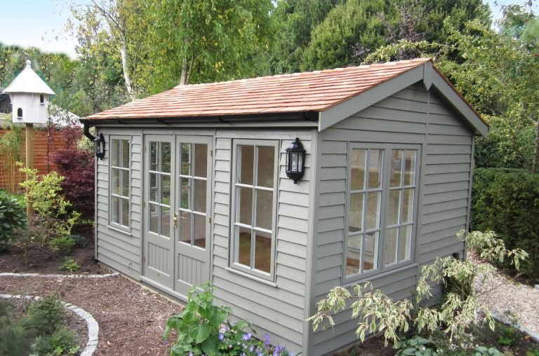 Holkham Summerhouse with Weatherboard Cladding