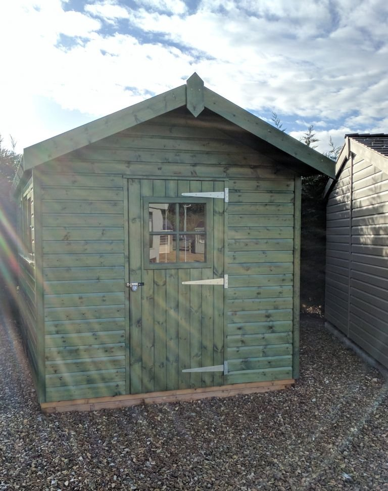 Superior Shed in Sikkens