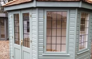 Wiveton Summerhouse in Valtti Paint