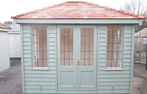 Cley Summerhouse with Leaded Windows