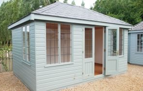 Cley Summerhouse with Grey Slate Effect Tiles