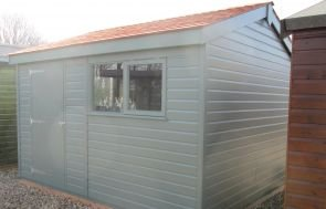 Superior Shed in Farrow & Ball Paint