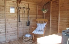 Superior Shed Internal