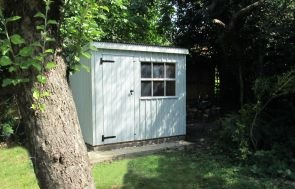 National Trust Oxburgh Garden Shed