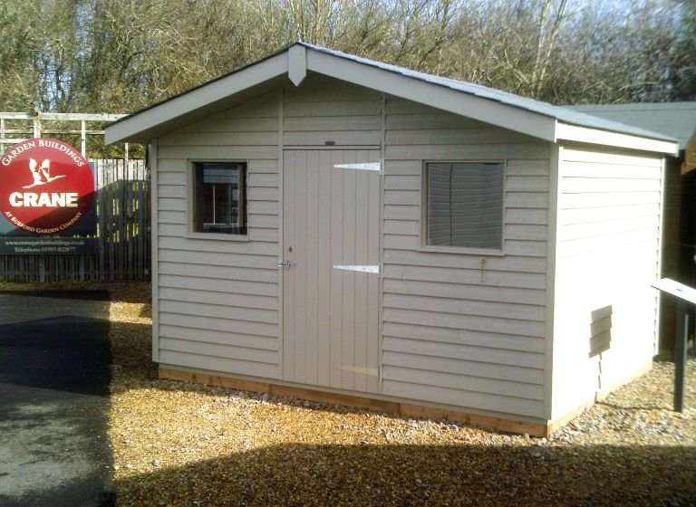Superior Shed - 3.6m x 3.0m (12ft x 10ft)
