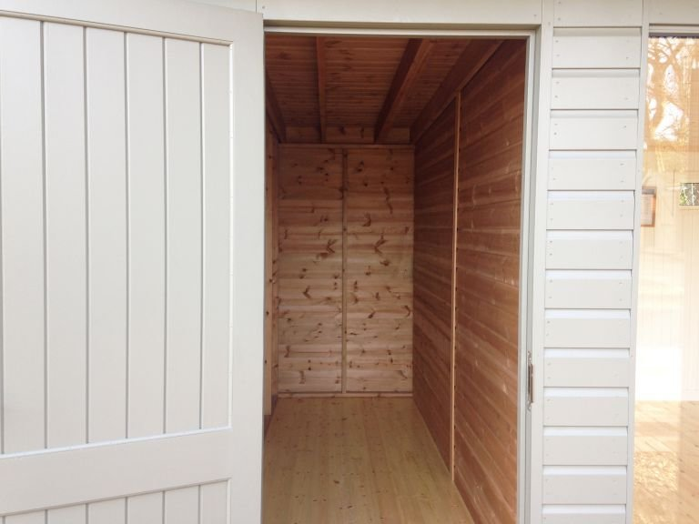 Salthouse Studio Storage Partition