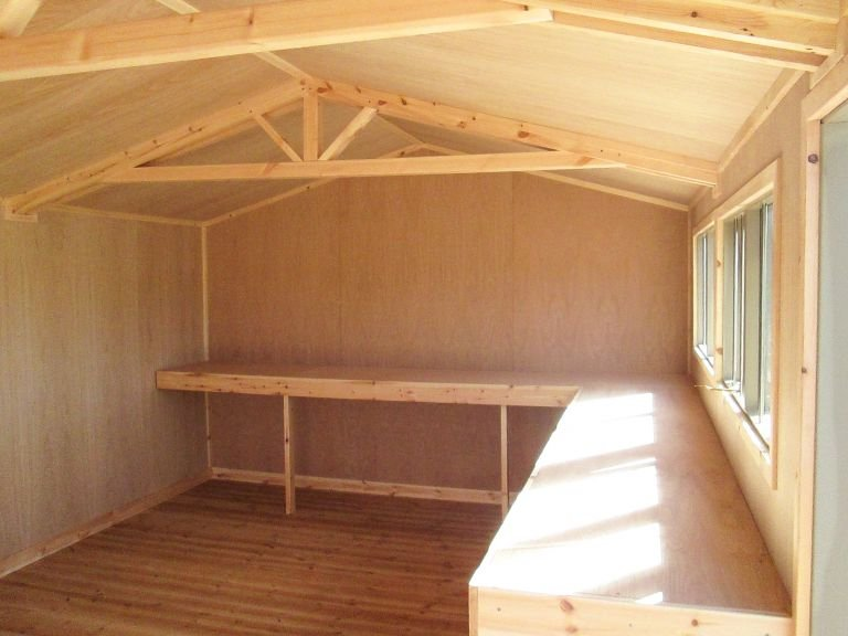 Superior Shed - 3.6m x 5.4m (12ft x 18ft)