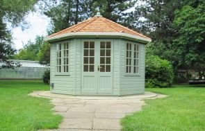 Wiveton Summerhouse with Guttering