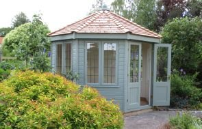 Wiveton Summerhouse with Leaded Windows