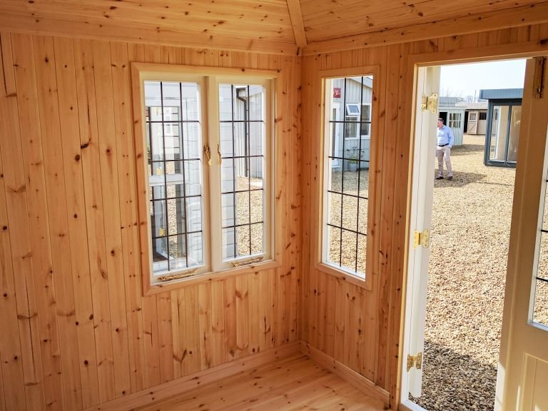 Cley Summerhouse with Natural Matchboarding