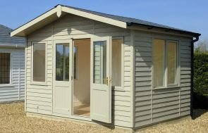 Binham Studio with Weatherboard Cladding