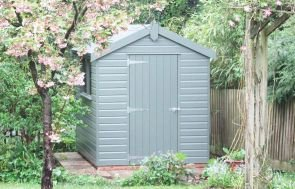 Classic Shed in Moss Paint