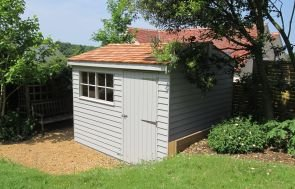 Superior Shed with Weatherboard Cladding